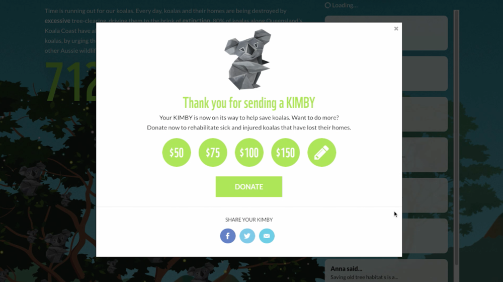 Over 60,000 KIMBYs Submitted to Local Politicians -
