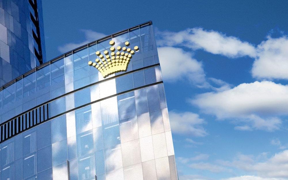 Placing the Crown on Sydney's Skyline -