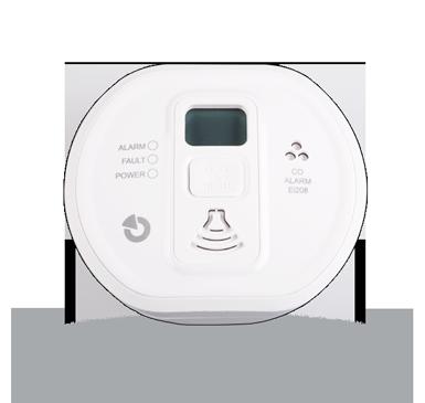 EI208DW: Stand-alone CO-gasdetector met een display