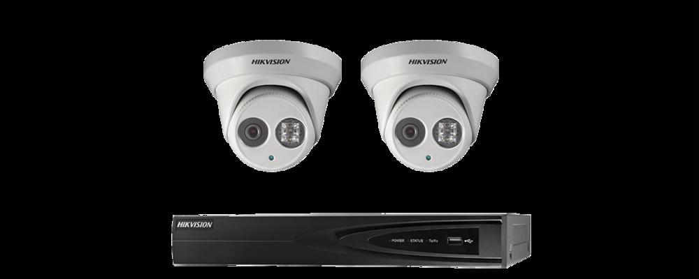 Hikvision EXIR 1.3MP Dome Promo pakket
