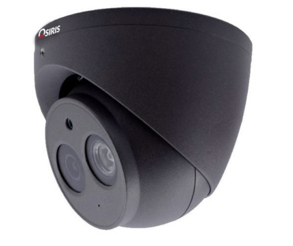 Zwarte camera MATT Security
