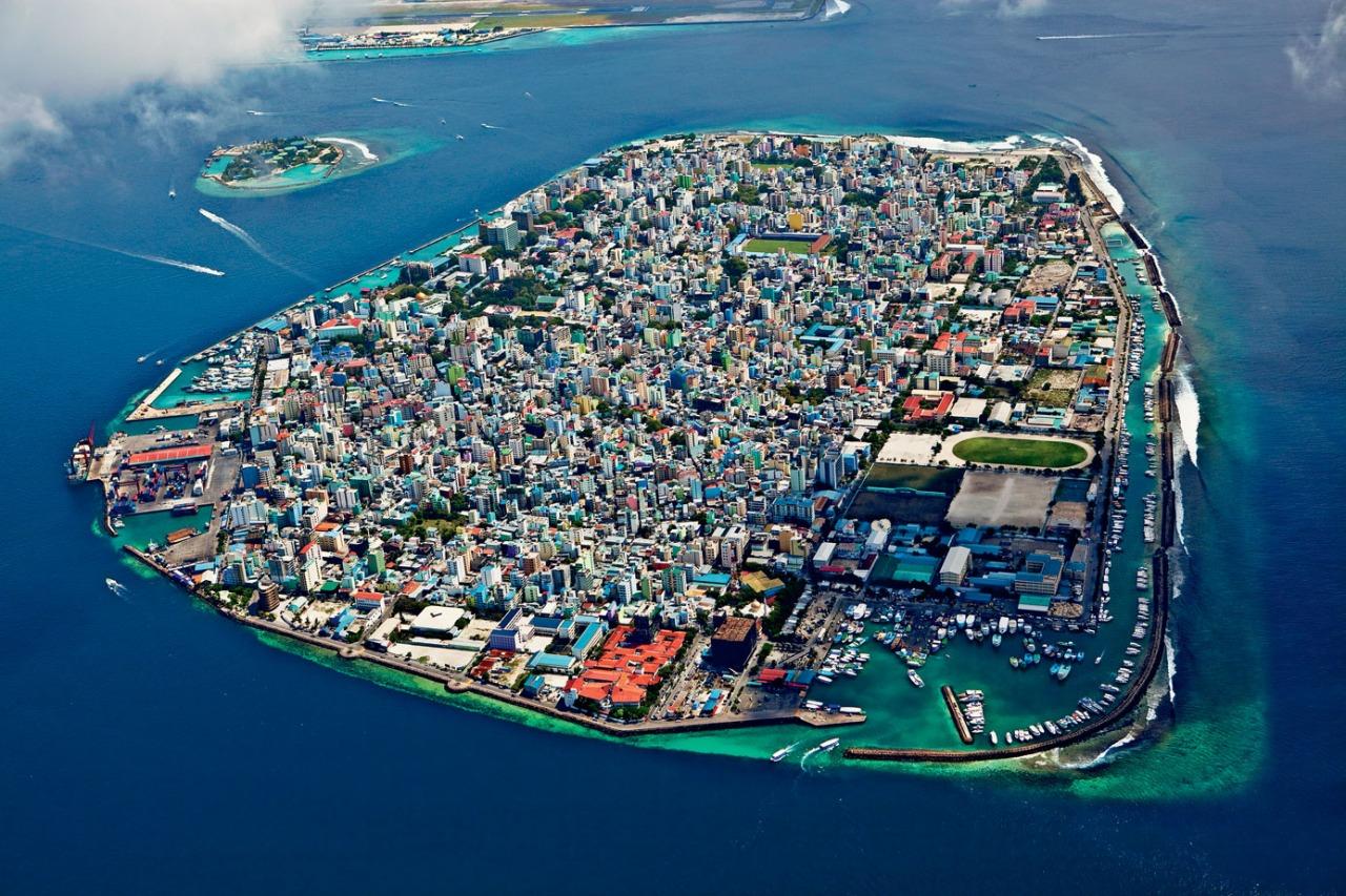 blazepress: Malé, capital of the Maldives.