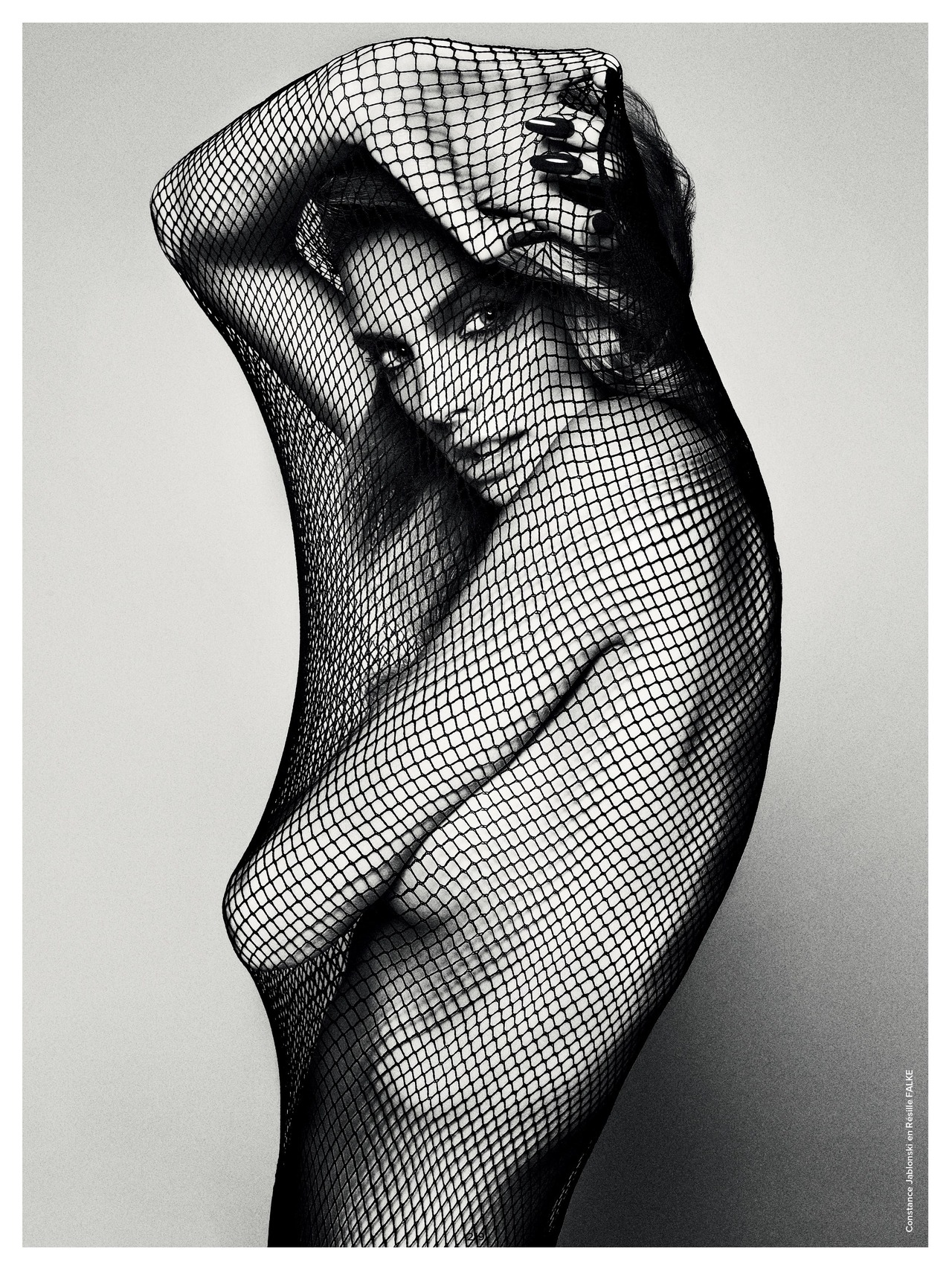 Constance Jablonski photgraphed by Txema Yeste for Antidote Magazine, F.W 2012.