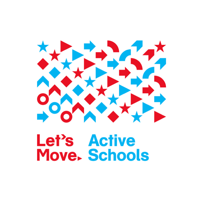 """Wolff Olins have revealed another piece of flexible branding. This time for Michelle Obama's Let's Move! campaign to get American children to be more active. The identity consists of a word mark a set of symbols. The colour scheme is obviously 'USA' inspired, with the animated stars representing the USA flag - there is no doubt of allegiance. While I like the colours, icons and animated nature of it all, my favourite application is the video above where it's show """"Let's"""" followed by many different movement words. This kind flexible branding where a 'logo' is almost secondary to overall brand voice is very current and Wolff Olins have done another nice job of it. Read their blog post hereor visitwww.letsmoveschools.org"""