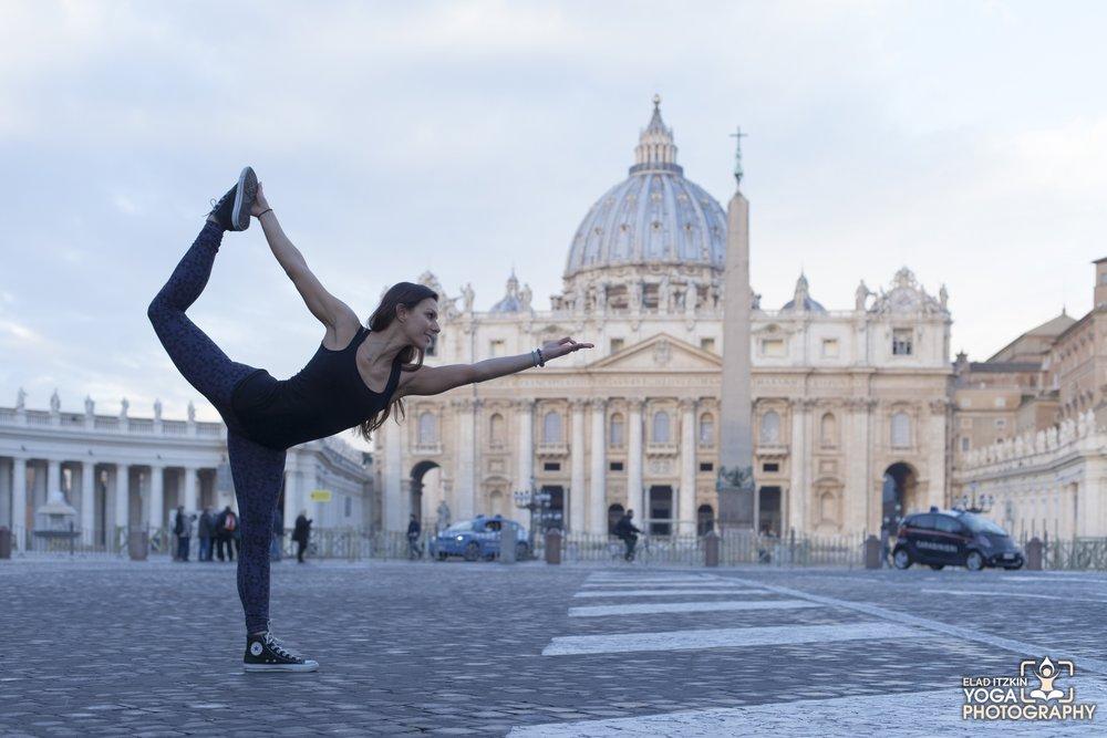 Vatican, Rome   | Photo by Elad Itzkin Yoga Photography | http://yoga.itzkin.com | @elad_itzkin_yoga_photography