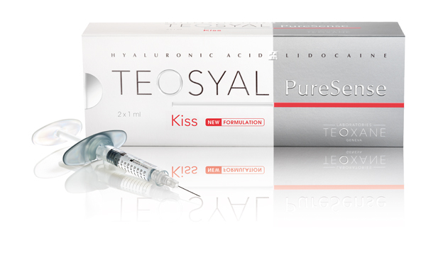 Kiss - Every doctor has a favourite formula or product they like to use. We use Teosyal Kiss.