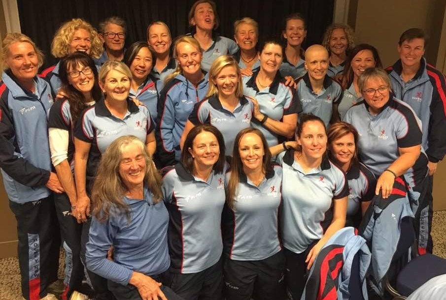 Women's Masters National Championships 2016 NSBHA were well represented across the 7 teams.