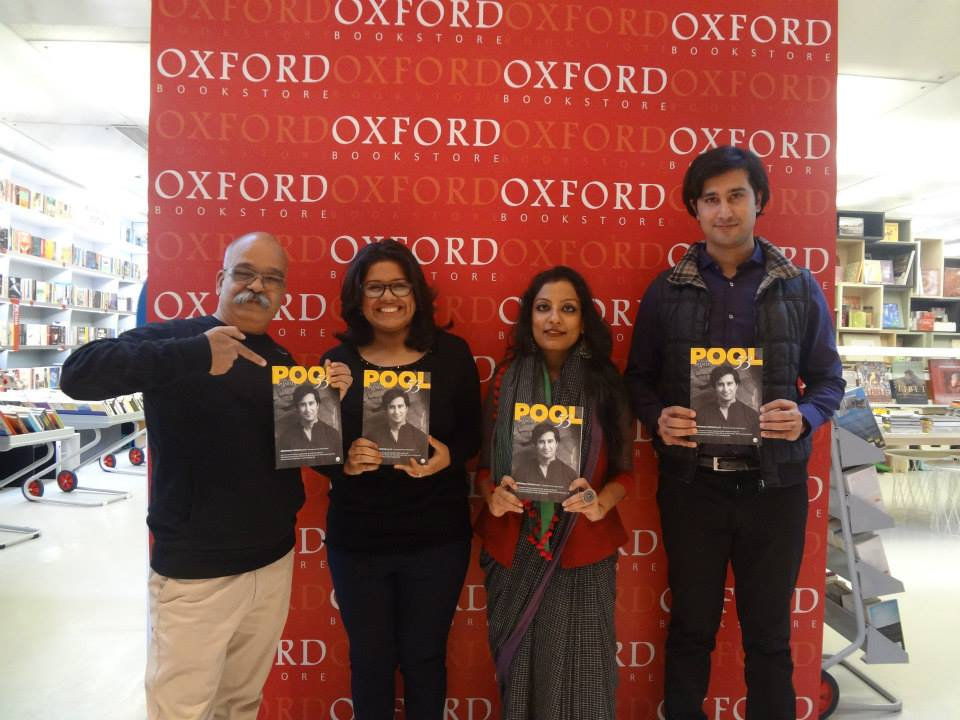 Abhimanyu Nohwar Pool magazine talk at Oxford Bookstore New Delhi
