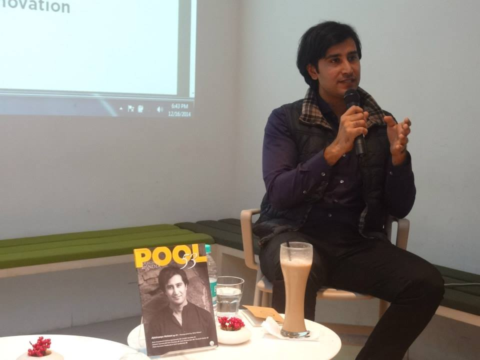 Abhimanyu Nohwar Pool magazine talk at Oxford Bookstore New Delhi - 2