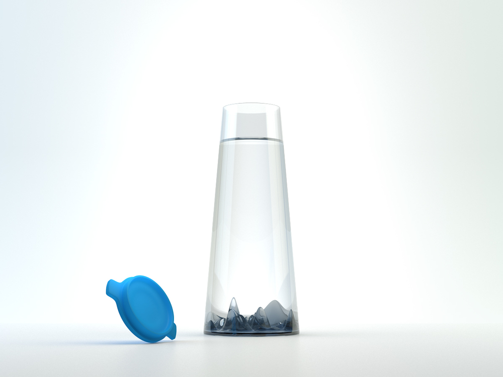 Misty Mountains carafe - by Kiba Design