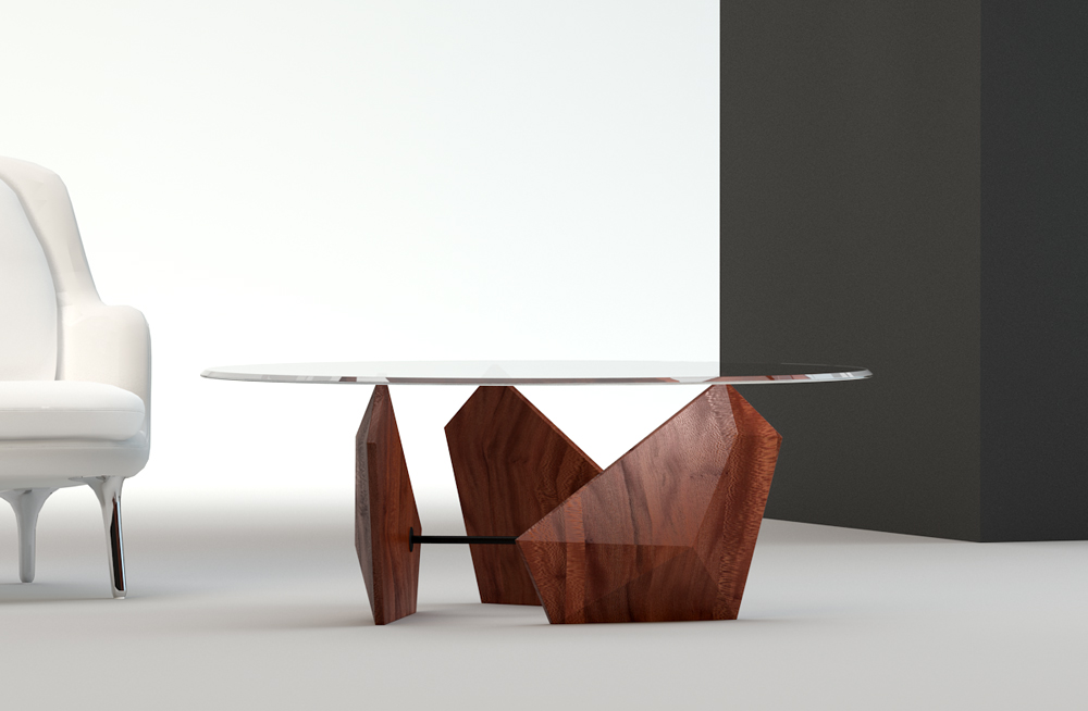Mountain Wind table - by Kiba Design