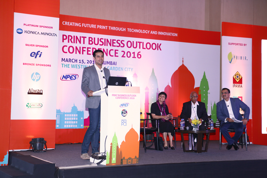 Abhimanyu Nohwar speaker at Print Business Outlook Conference 2016