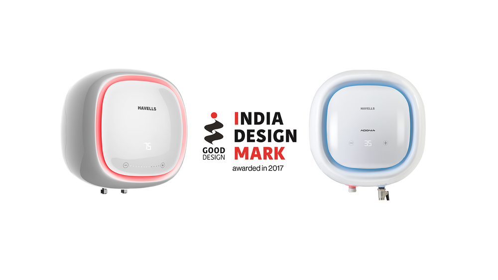 India Design Mark for Havells Adonia - by Kiba Design