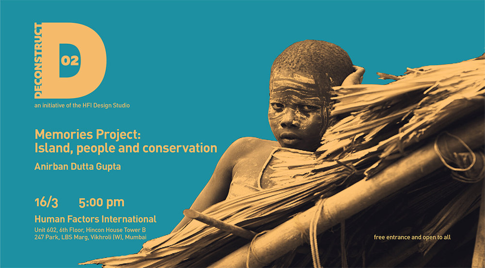 Posters designed for Deconstruct - an event we launched to generate interest around RAD and engage locally.