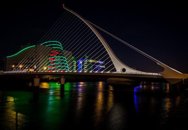 Samuel Beckett Bridge Ireland