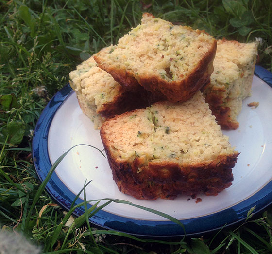 courgette and lemon cake recipe