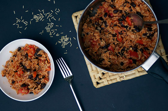 Mexican style chipotle rice