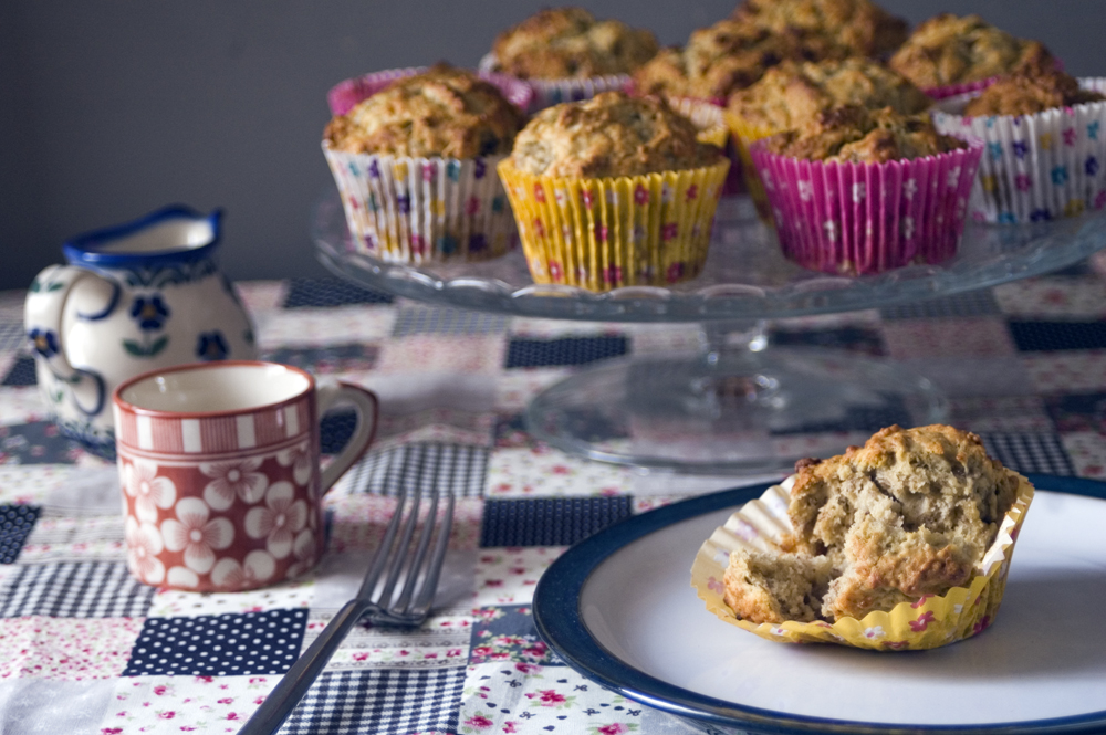 Recipe-for-banana-almond-muffins-refined-sugar-free-bake-with-stork