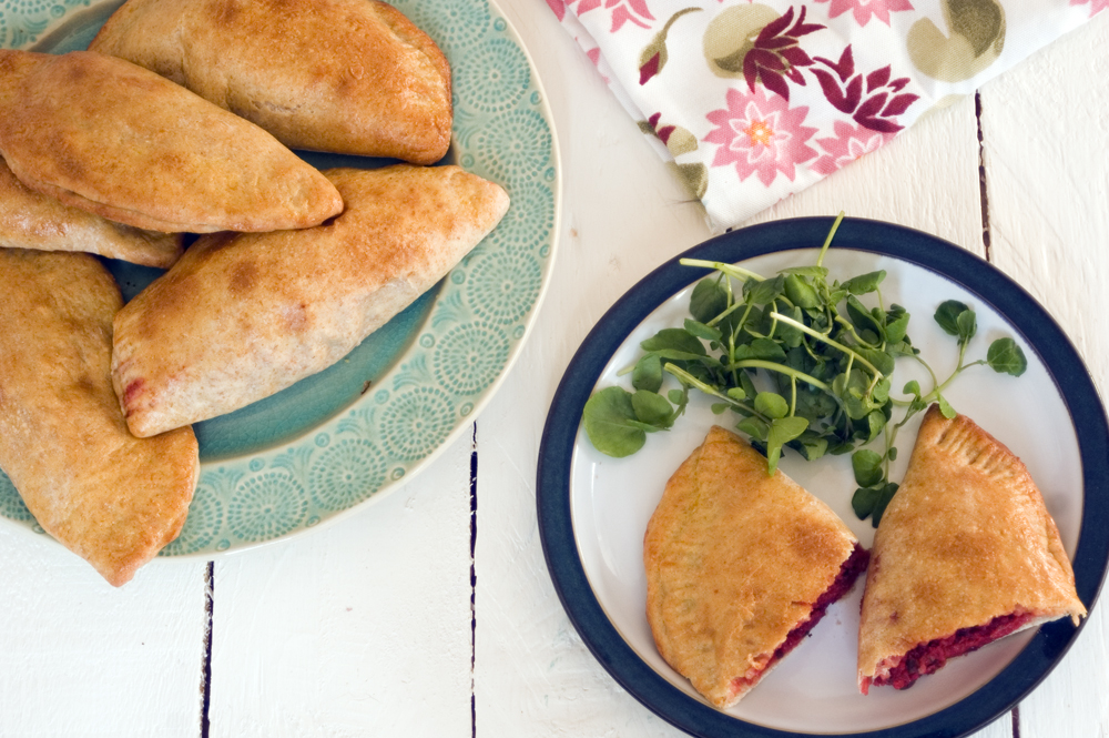 Mini-calzone-beetroot-thyme-pumpkin-seed-pesto-cheddar-haywards-pickles