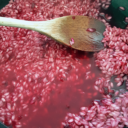 Beetroot-black-cherry-rice-pudding-recipe
