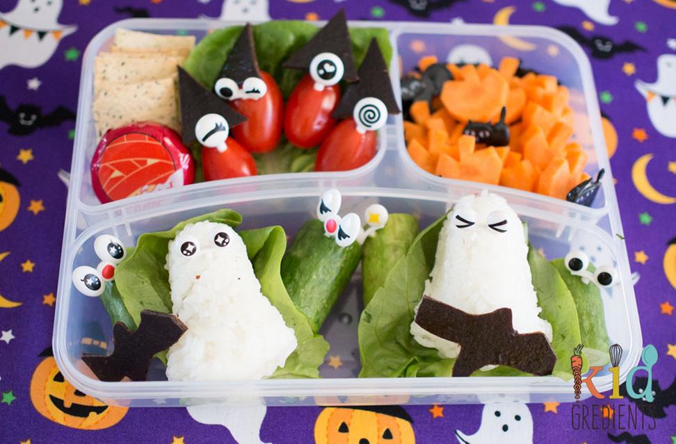 Spooky bento lunchbox