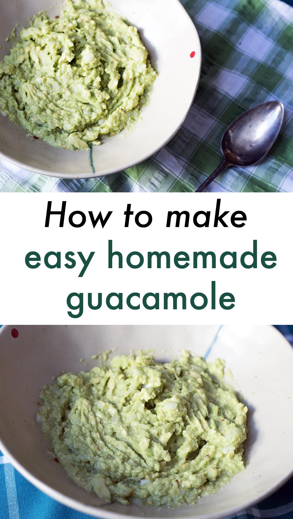 How-to-make-easy-homemade-guacamole