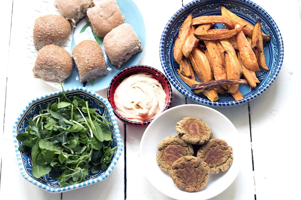 Falafel-sliders-mini-burgers-vegetarian-vegan-recipe
