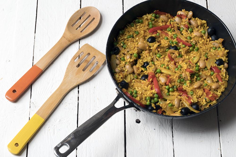 Easy-recipe-for-vegetarian-paella