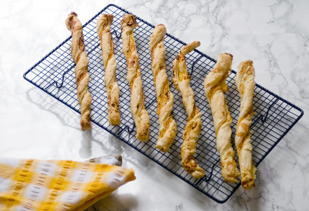 Butternut squash cheese straws recipe
