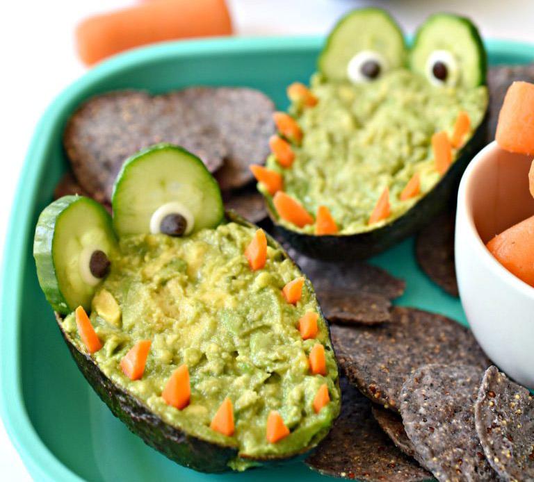 Healthy guacadile dip