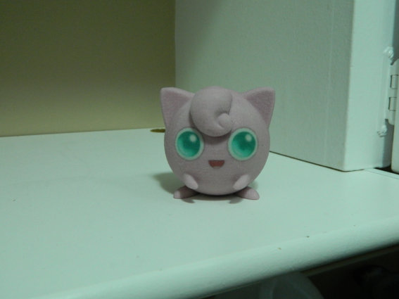 Completed SandStone 3D Printed Pokemon