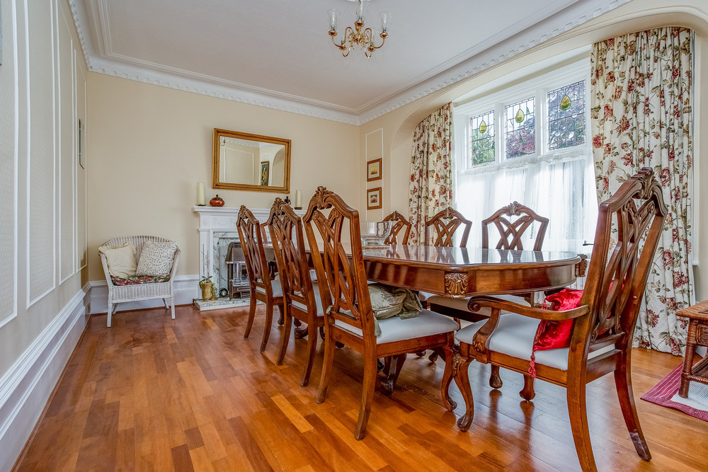A Dining room should only be presented as is and not a multi use room