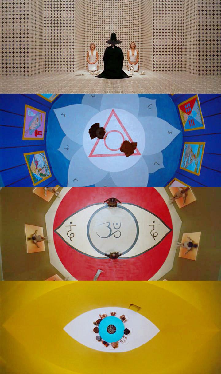 "Alejandro Jodorowsky  - serie di still da ""La Montagna Sacra"" 1973"