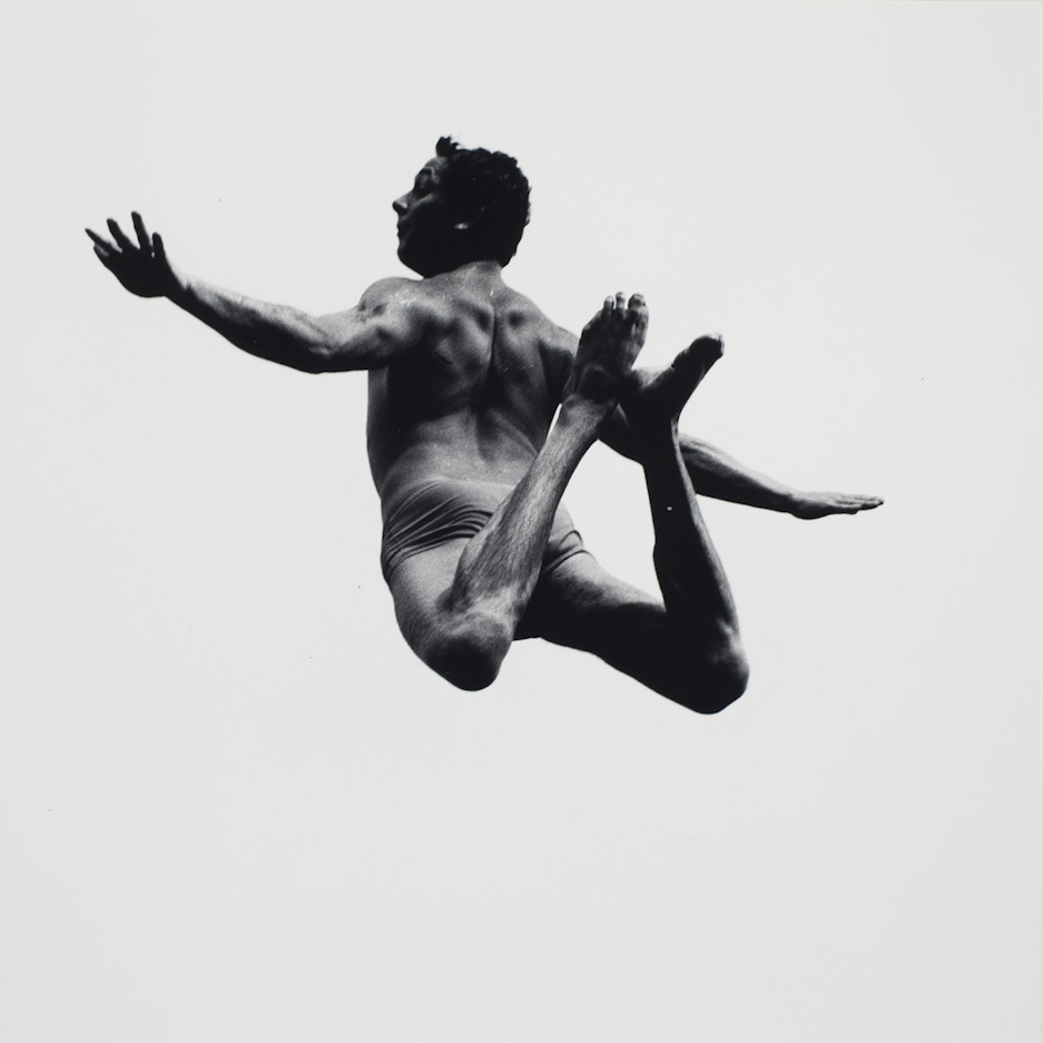 Aaron Siskind  from the series  Pleasures and Terrors of Levitation , 1956