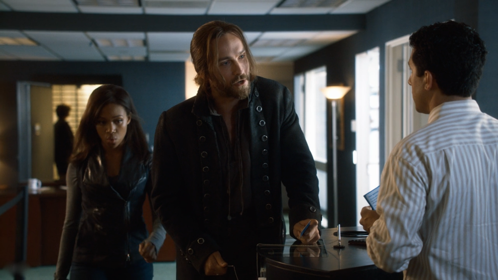 SLEEPY HOLLOW  with Tom Mison & Nicole Beharie