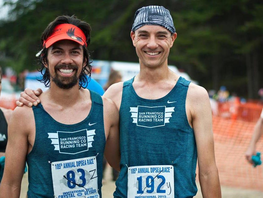 Bros after the Dipsea Race