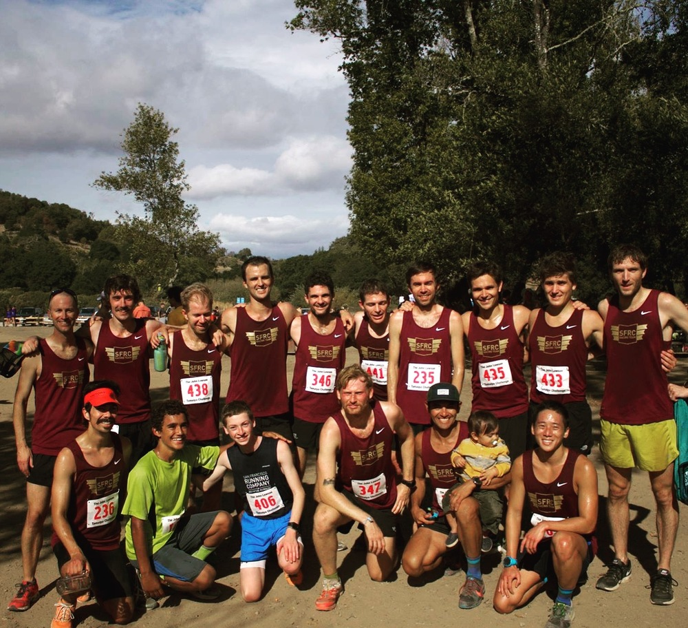 SFRC Men's Racing Team had a great first season running cross country, with a meet win in China Camp and ranking 34th at Club Nationals.