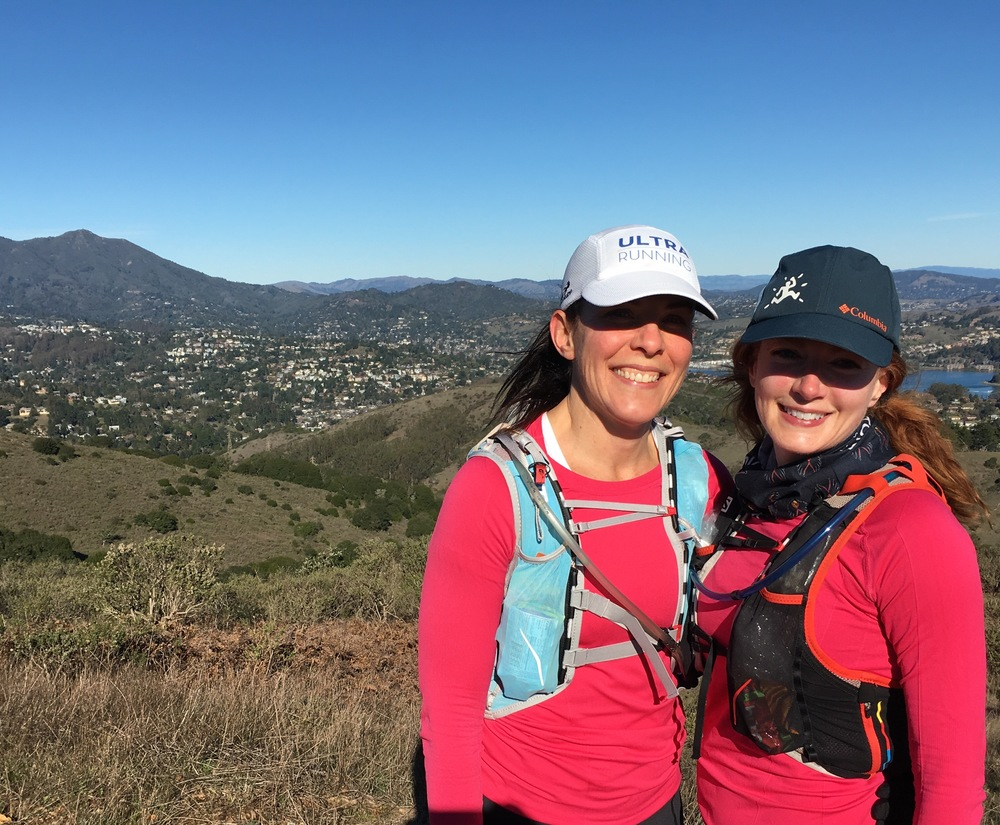 Many team members train together for trail ultramarathons.