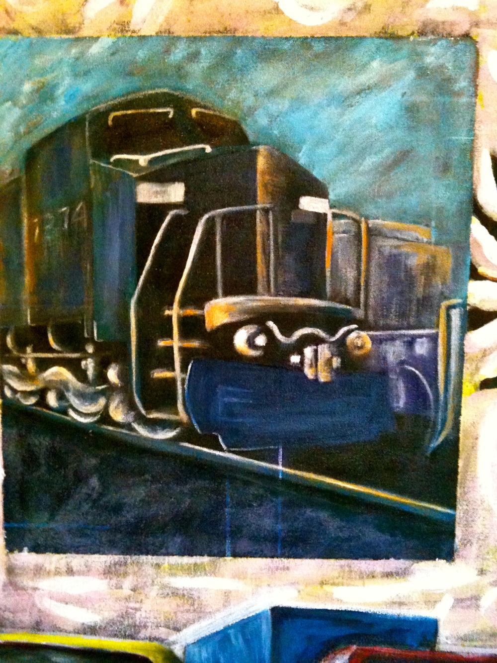 Conrail Quality I (Detail)