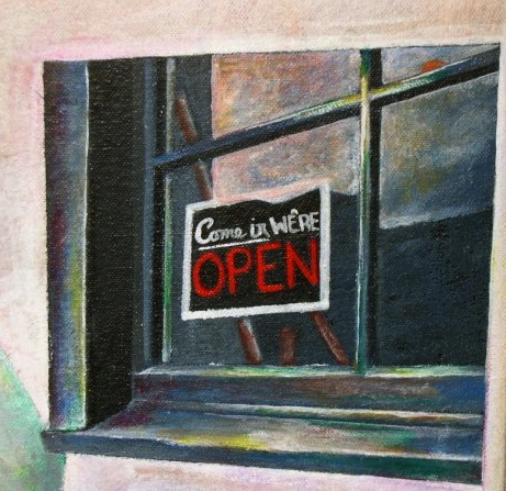 Come in, We're Open: Sarah & Jeff (Detail)