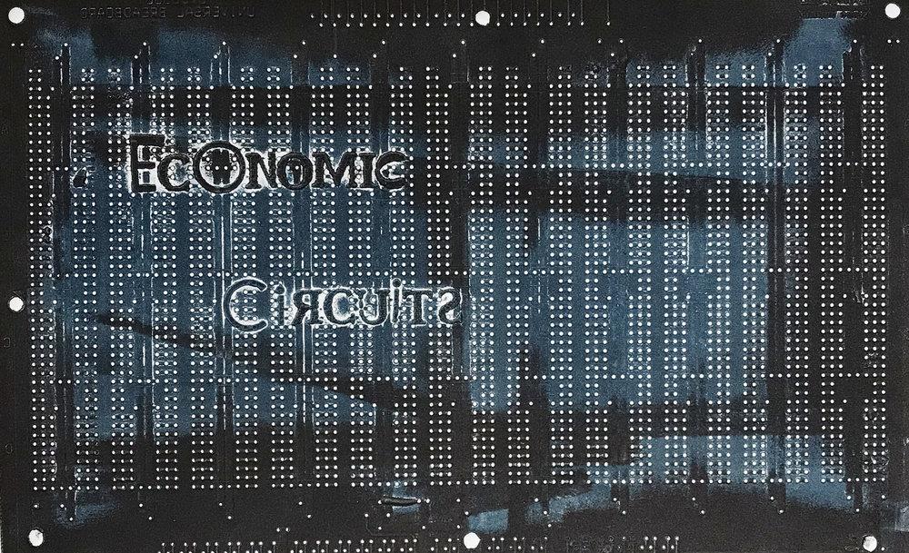 Economic circuits - 2018 - 16 x 22