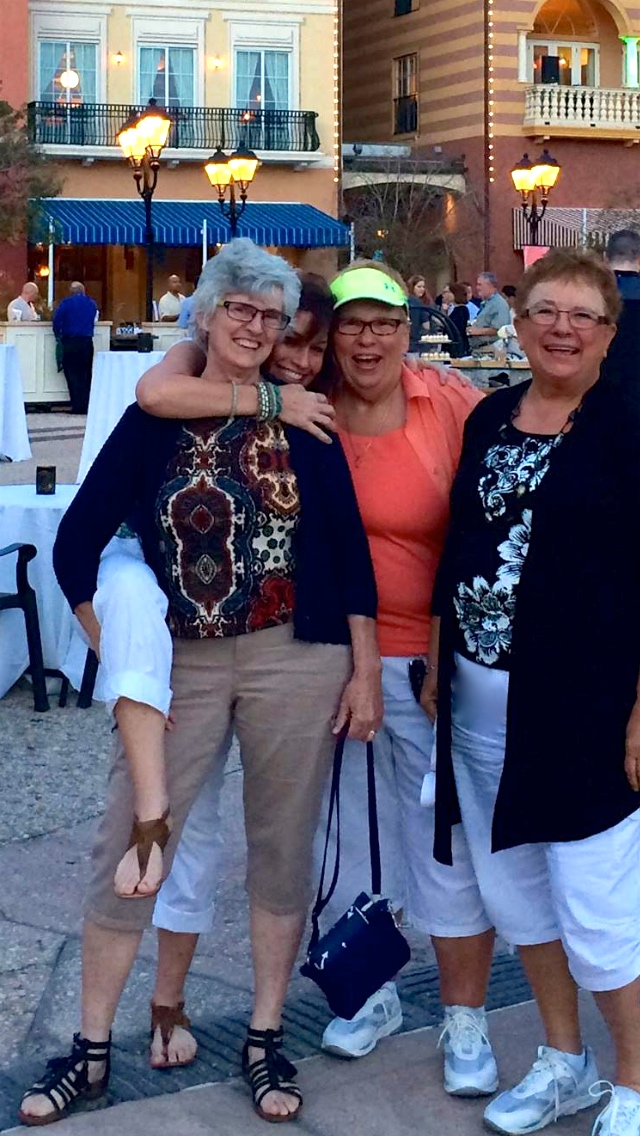 """Left to right: (1)  Tipsy's Mom  no longer with umbilical cord, (2)  Tipsy  now only with her belly button, (3)  """"Sassy""""  life-ballocks miester, and (4)  """"Marvee""""  who, at the age of ten   with my mom  , put my grandma and Jesus on a bicycle."""