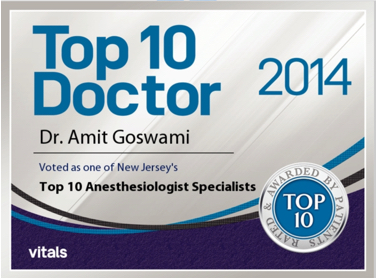 Amit Goswami, MD | Top Doctors Award New Jersey