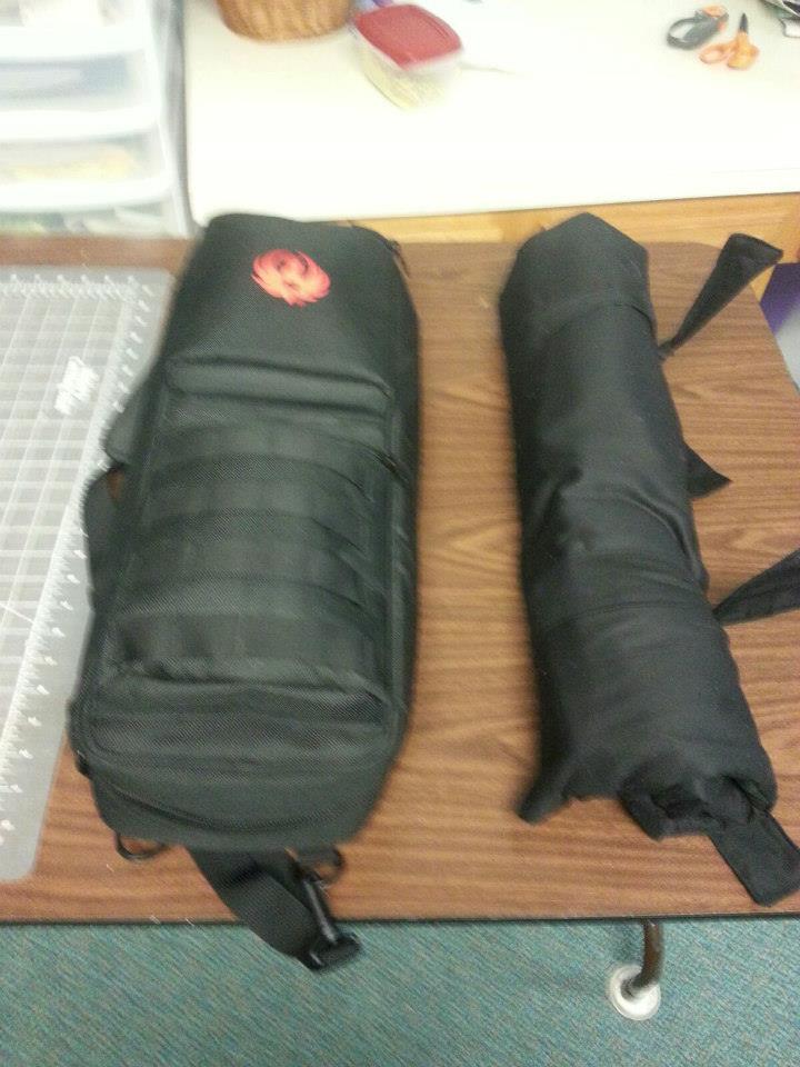 Smaller than manufacturer gun cases