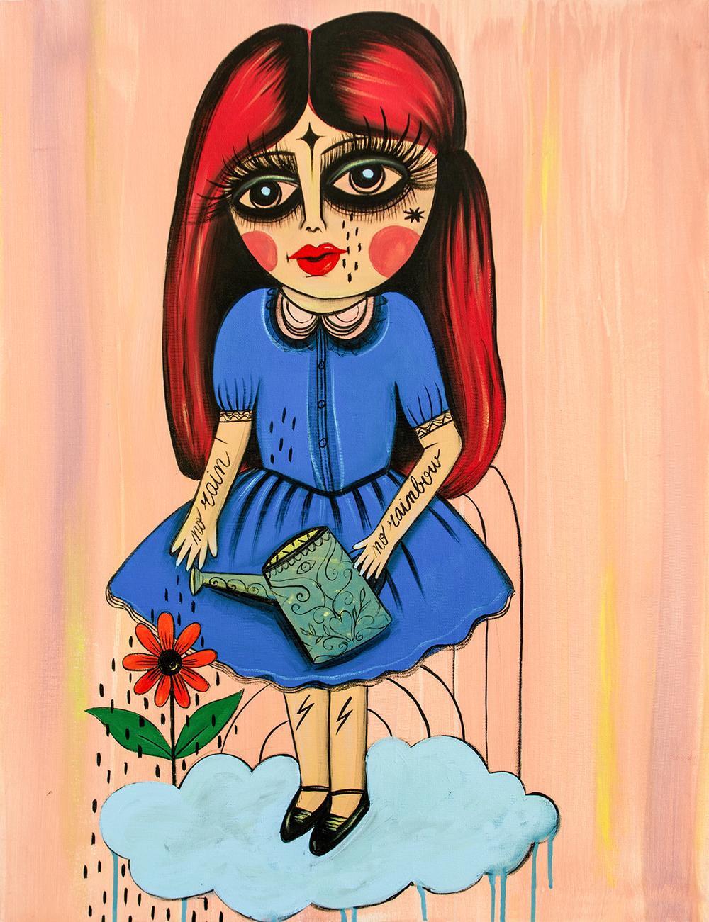Abracadhybrid #6_ Indigo Girl