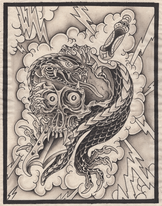 John Wilson <br> Dead eyes, 2016