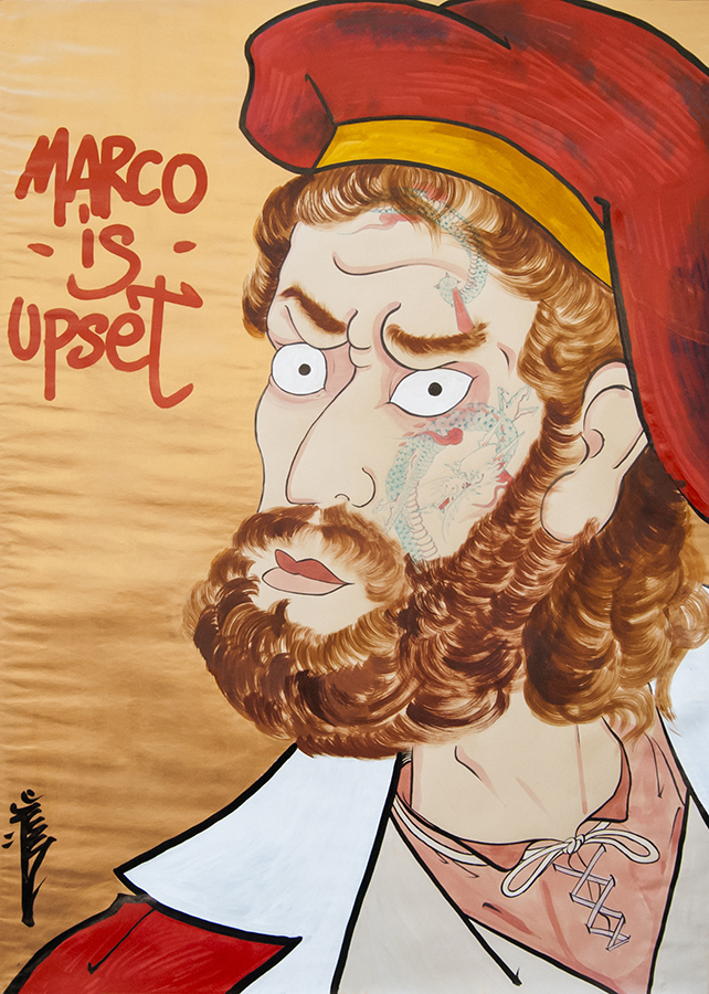 Marco Polo is upset, 2016