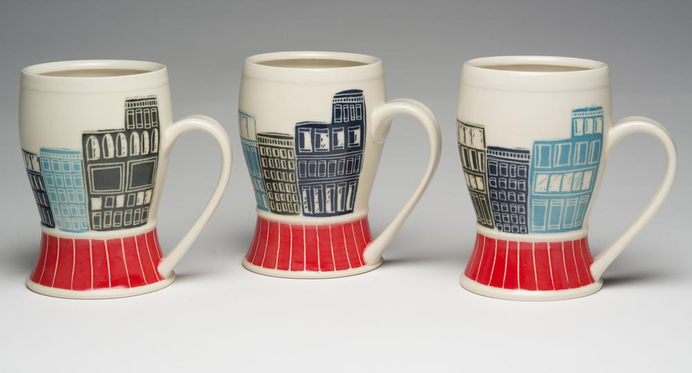 City street mug
