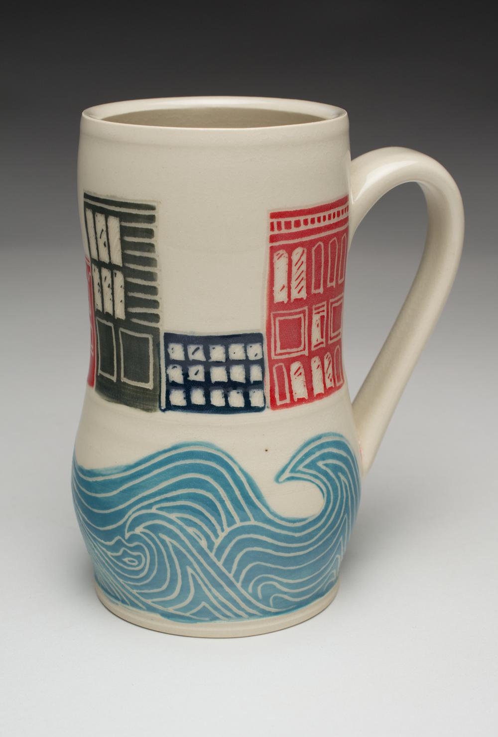 Coastal City Mug