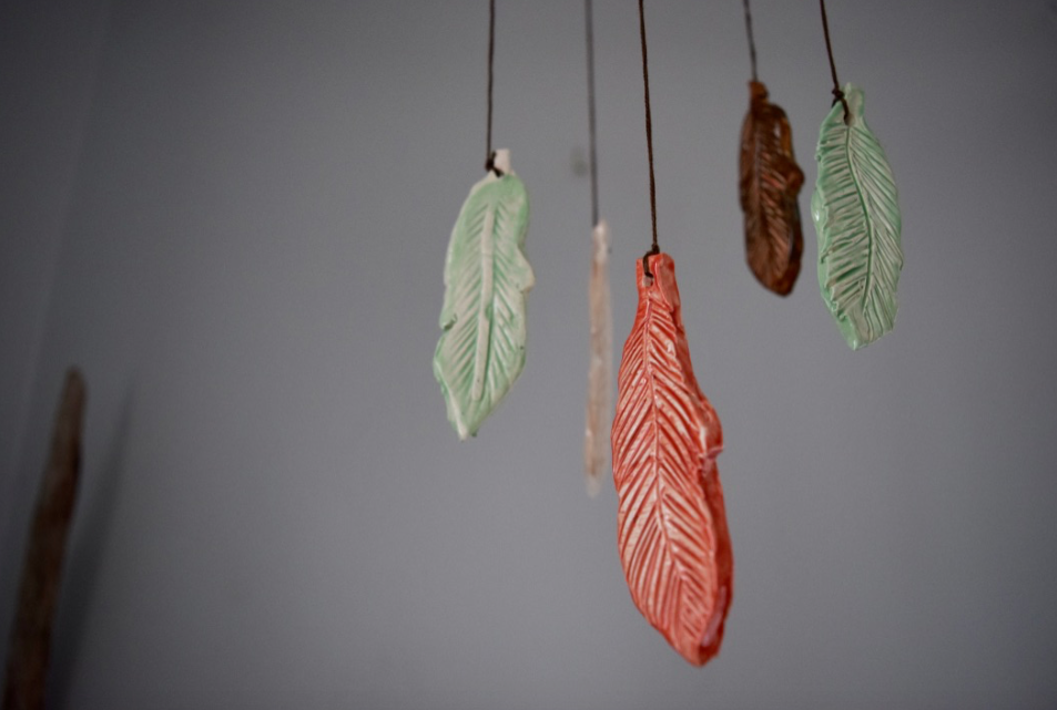 Our one of a kind mobiles are a hit among millennial home-buyers.  Trendy face lift for any interior or porch space.